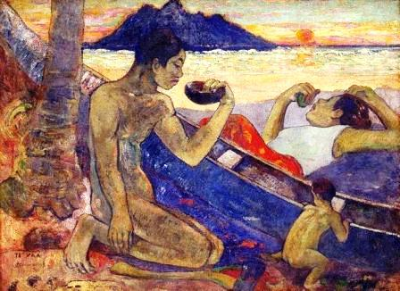 Paul Gauguin - The Canoe