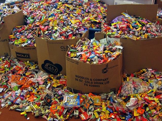 Pile-o-candy